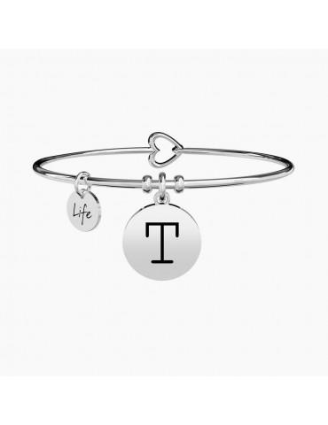 Kidult - Bracciale Symbols - Lettera T - 231555t