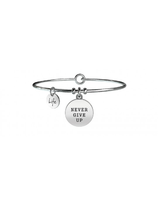 KIDULT - BRACCIALE PHILOSOPHY - NEVER GIVE UP