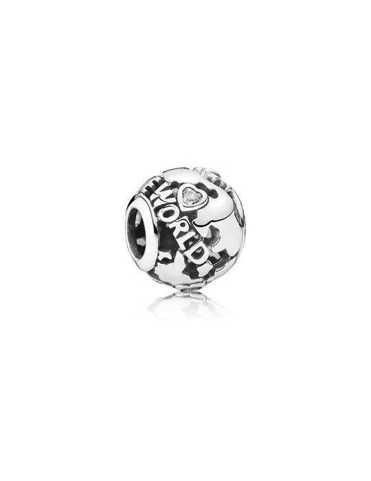 PANDORA - CHARM MONDO OPENWORK - 791718CZ