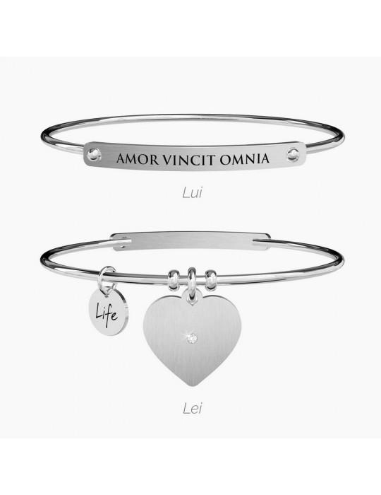 KIDULT - BRACCIALE LOVE AMOR VINCIT OMINA - 731053