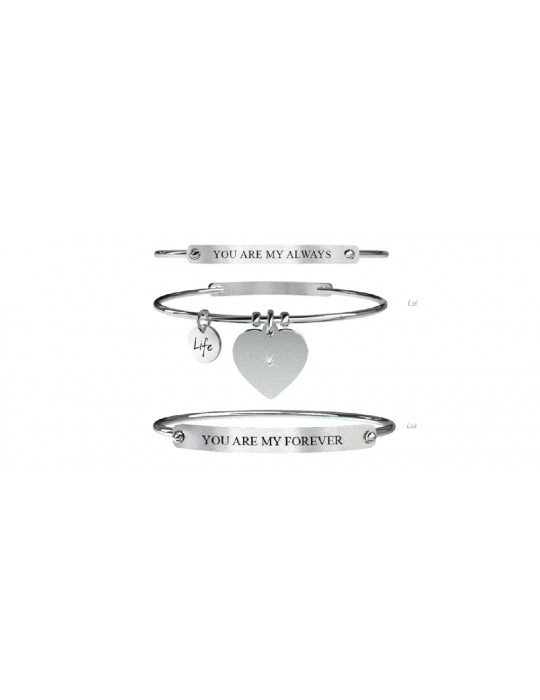 KIDULT - BRACCIALE LOVE - ALWAYS FOREVER - 731054