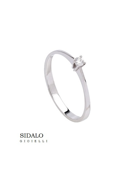 SIDALO - ANELLO SOLITARIO - AM920B006