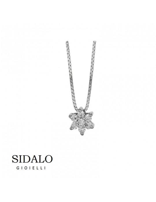 SIDALO - COLLANA IN ORO BIANCO - CM750B010