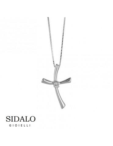 SIDALO - COLLANA ORO BIANCO - € 324