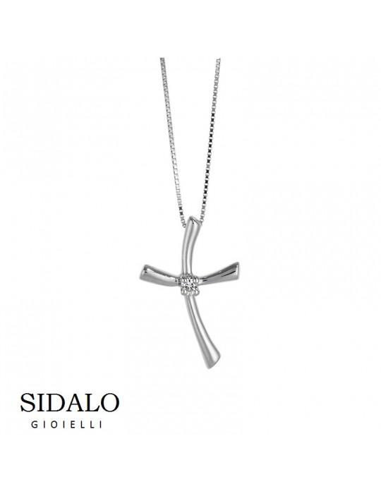 SIDALO - COLLANA ORO BIANCO - CM4546