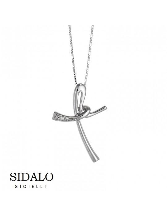 SIDALO - COLLANA IN ORO BIANCO - CM4551_0017