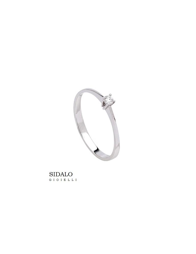 SIDALO - ANELLO SOLITARIO 366€