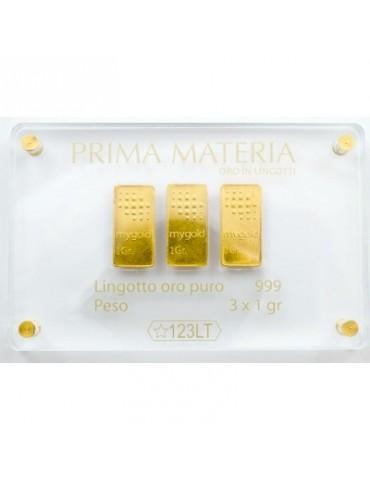Prima Materia - Lingottini In Oro