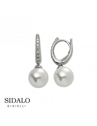 Sidalo - Orecchini Con Perla