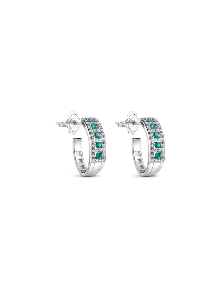 lowest price 8b32e 45a89 Damiani - Orecchini con smeraldi della collezione Belle Epoque