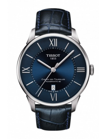 TISSOT - CHEMIN DES TOURELLES POWERMATIC 80