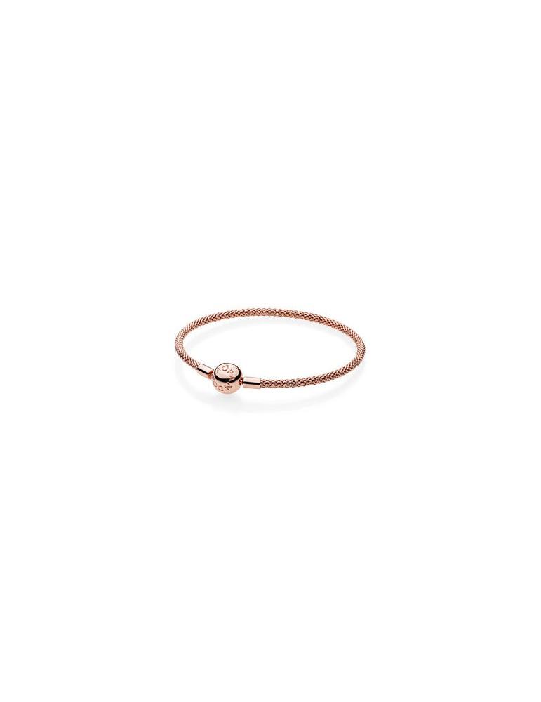 sito affidabile 53777 9ea70 Pandora - Bracciale Maglia mesh rosè