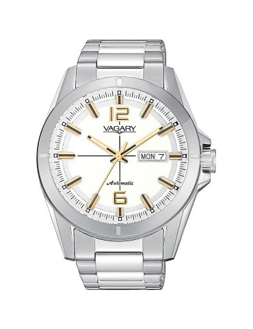 VAGARY  BY CITIZEN- SOLOTEMPO GEAR MATIC WHITE