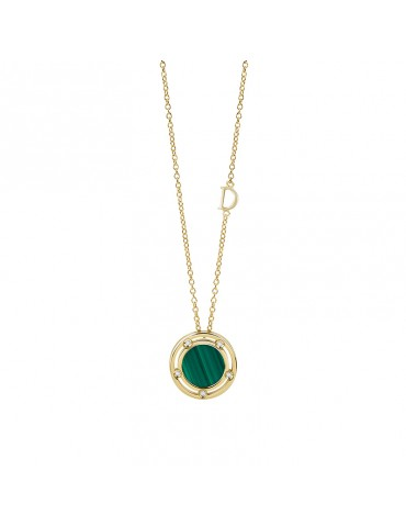 Damiani - Collana  D.side Con Malachite