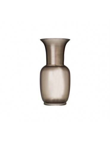 Venini - Vaso Satin Color Talpa Cristallo - 706.22