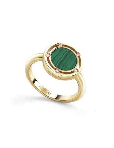 DAMIANI - ANELLO  D.SIDE CON MALACHITE - 20084412