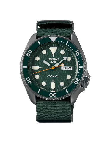 SEIKO -  SPORTS SERIE 5 GREEN ARMY - SRPD77K1
