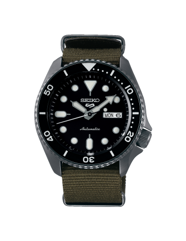 SEIKO -  SPORTS SERIE 5 BLACK WOOD - SRPD65K4