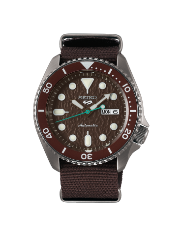 SEIKO -  SPORTS SERIE 5 BROWN- SRPD85K1