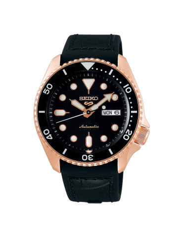 Seiko - Sports Serie 5  Gold Rose- Srpd76k1