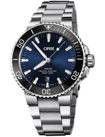 ORIS - AQUIS DATE AUTOMATIC BLU 73377304135