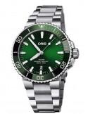 Oris - Aquis Date Automatic Verde 73377324157