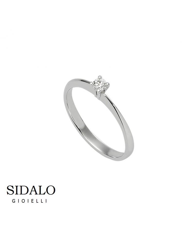 SIDALO - ANELLO SOLITARIO 353€