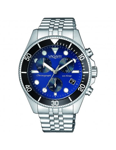 VAGARY  BY CITIZEN - CRONOGRAFO AQUA 105TH BLUE