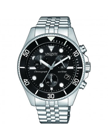 VAGARY  BY CITIZEN - CRONOGRAFO AQUA 105TH BLACK