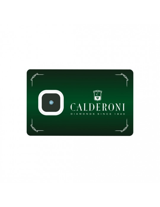 CALDERONI - DIAMANTE TAGLIO BRILLANTE 010 G VS
