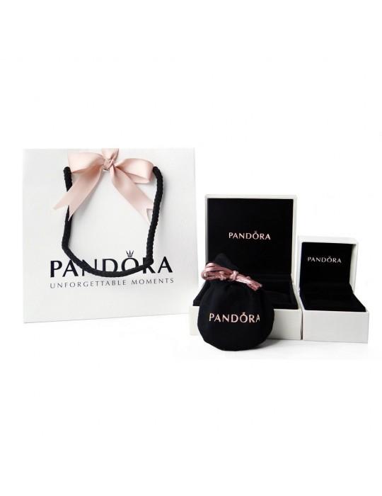 PANDORA - ORECCHINI A LOBO CON PAVÈ - 290726CZ