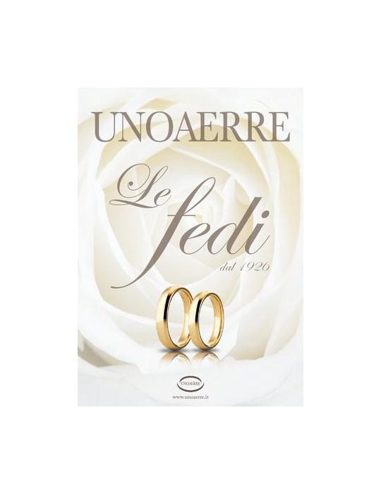 UNOAERRE - FEDE FRANCESINA GR.1.5 IN ORO BIANCO